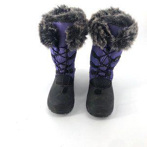 Fir Lined Snow Boots Size 5 Kamik